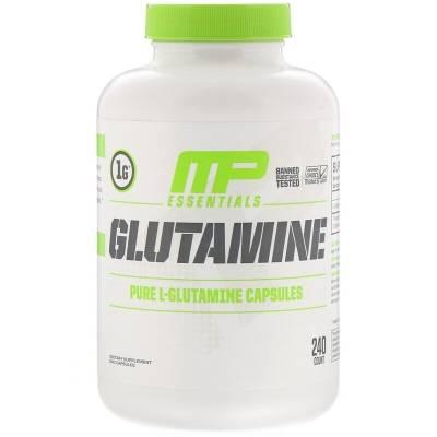 MusclePharm Glutamine (240 caps)
