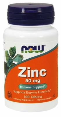 Now Zinc 50 mg (100 tab)