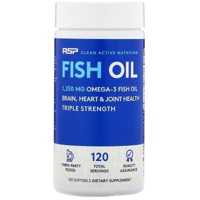 RSP Fish Oil (120 caps)
