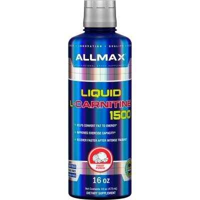 Allmax Liquid L-Carnitine 1500 (473 ml) > Yağ yandıranlar >