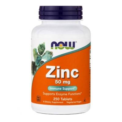 Now Zinc 50 mg (250 tab)