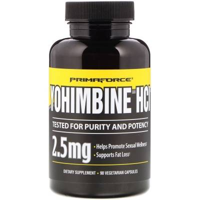 Primaforce Yohimbine HCl 2.5 mg (90 caps)