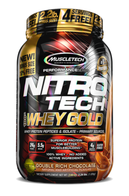 NitroTech Whey Gold (1kg)