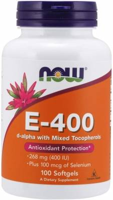 Now E-400 (100 softgels)