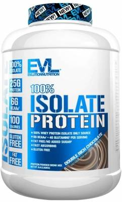 EVLution Nutrition 100% Isolate Protein (2.27 kg)