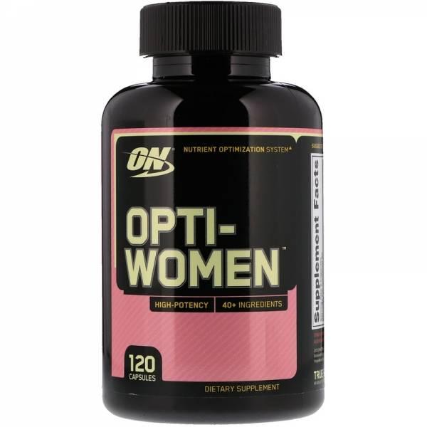 Opti-Women (120 caps) > Sport Supplements > Vitamins and minerals > OptimumNutrition