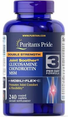 Puritans Pride Glucosamine Chondroitin MSM (240 tab)