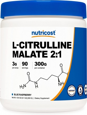 Nutricost L-Citrulline Malate 2:1 (300 gr) > Amin turşuları >