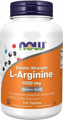 Now Double Strength L-Arginine 1000 (120 tab) > Amin turşuları >