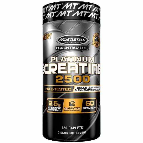Platinum 100% Creatine 2500 (120 cap)