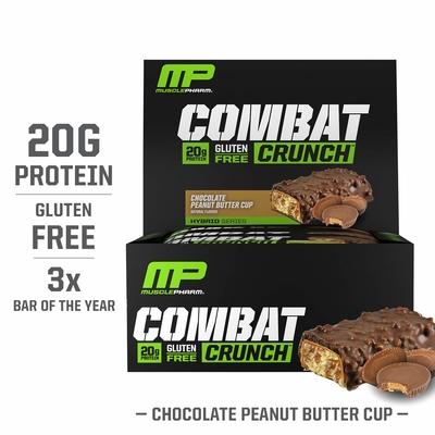 Combat Crunch Protein Bar (12 ədəd)
