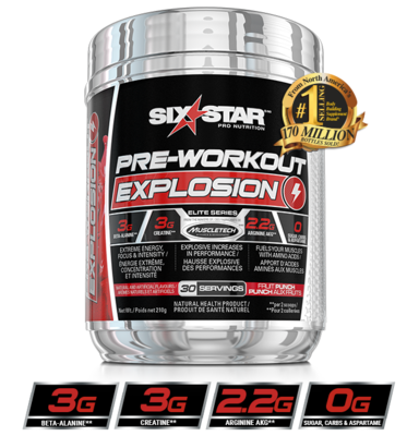 MuscleTech SixStar Explosion