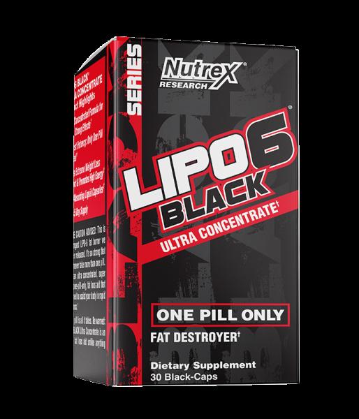 Lipo 6 Black (60 caps)