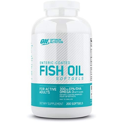 Optimum Nutrition Fish Oil (200 Softgels)