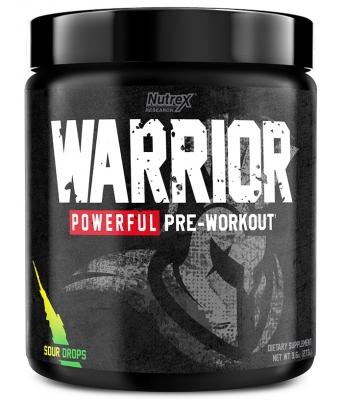 Nutrex Warrior Pre-Workout (273 gr) > Məşqdən əvvəl > Nutrex